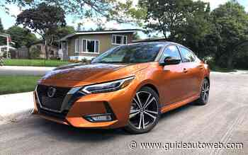 Nissan Sentra 2020: strict moyen de transport