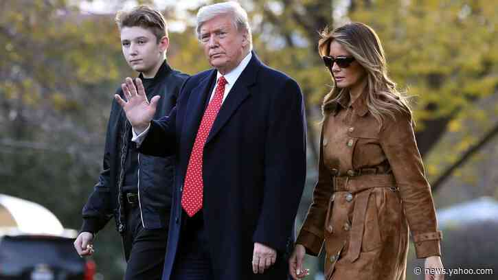 Barron Trump Tested Positive for COVID-19, Melania Reveals in 'Personal' Essay