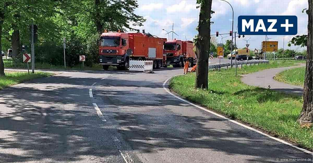 Nauen: Mehrere Straßen erhalten neue Oberfläche - Märkische Allgemeine Zeitung