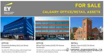 Unique investment opportunity to acquire commercial real estate in Calgary with value upside potential - Canada NewsWire