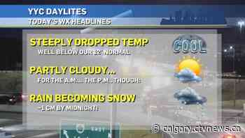 Calgary weather for Tuesday, Oct. 13 | CTV News - CTV Toronto