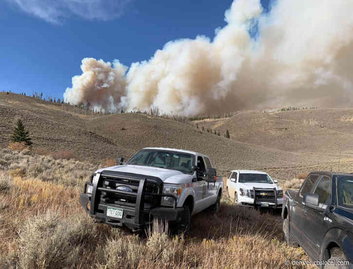 East Troublesome Fire Burns 100+ Acres Northeast Of Kremmling, Prompting Mandatory Evacuations