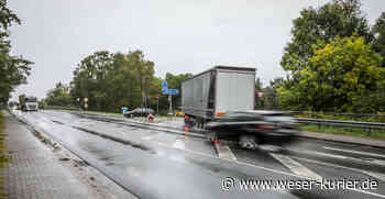 Ein Kreisverkehr für den Knotenpunkt am Gewerbepark Oyten - WESER-KURIER