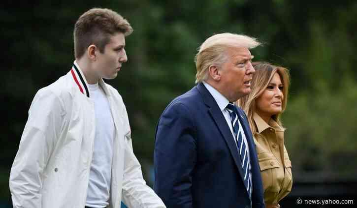 Melania Trump Says Son Barron Had COVID-19, Was Asymptomatic