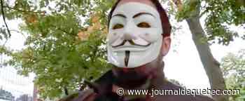 L'antimasque du Tim Hortons récidive dans un palais de justice
