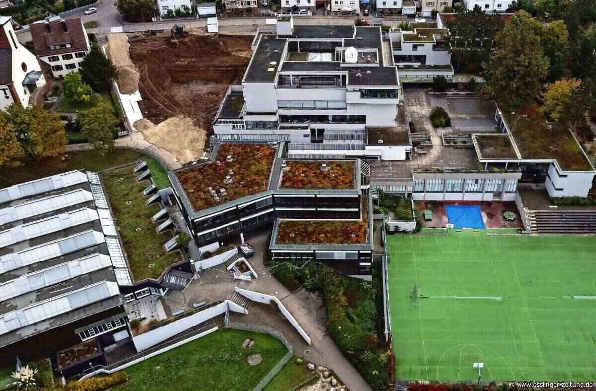 Schule in Plochingen: Sanierung des Gymnasiums geht voran - Plochingen - esslinger-zeitung.de