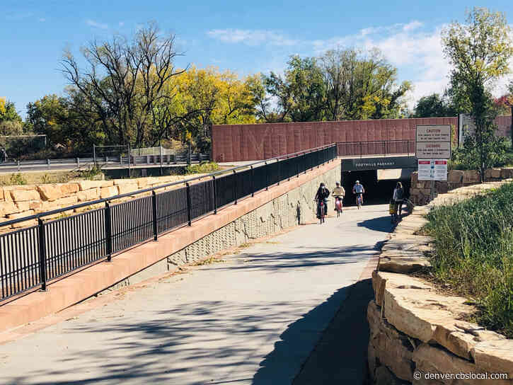 Foothills Parkway Bicycle & Pedestrian Underpass Opens In Boulder