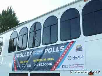 NAACP, Great Raleigh Trolley team up to help get people to polls to vote