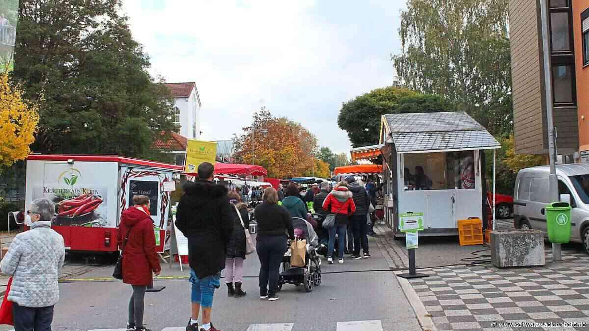 Blumberg: Krämermarkt wird zur Begegnungsstätte - Blumberg - Schwarzwälder Bote