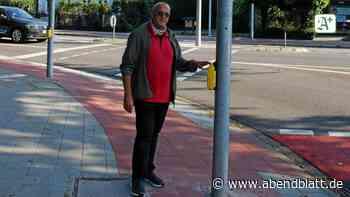 Ampel steht mitten auf Radweg: Ahrensburg bessert nach - Hamburger Abendblatt