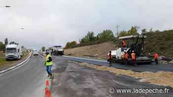 Le Montat : la RD820 déviée durant les travaux de revêtement - ladepeche.fr