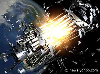 A dead Soviet satellite and a discarded Chinese rocket body have a 1-in-10 chance of colliding in space on Thursday