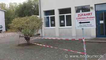 Corona-Testzentrum in Neubrandenburg erlebt Riesenansturm - Nordkurier