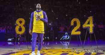 NBA: Lakers-Star LeBron James mit emotionaler Botschaft an Kobe Bryant - SPORT1