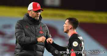 Klopp explains what he 'liked' about Liverpool defeat to Aston Villa