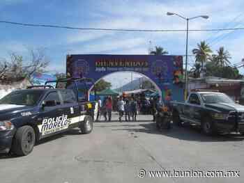 Suspenden Feria de Año Nuevo Jojutla 2020 - Unión de Morelos