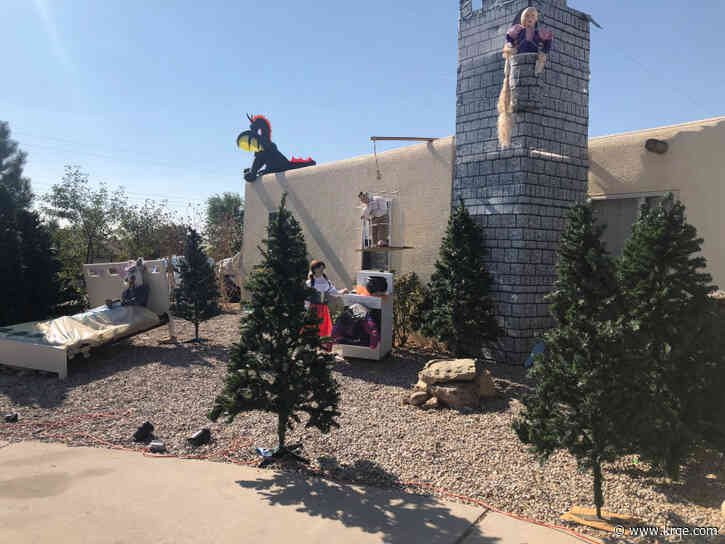 Rio Rancho family transforms home into 'Grimm Brothers' fairy tales for Halloween