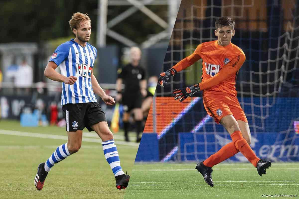 Bogaers en Borgmans bij vaste A-kern FC Eindhoven