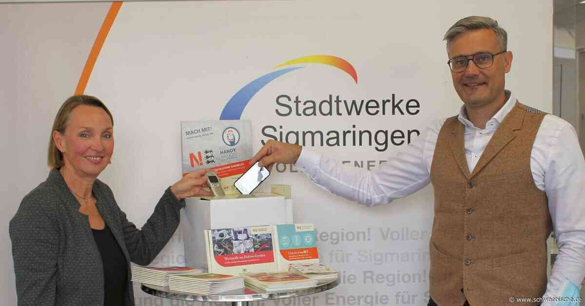 Sigmaringen sammelt alte Handys für guten Zweck - Schwäbische