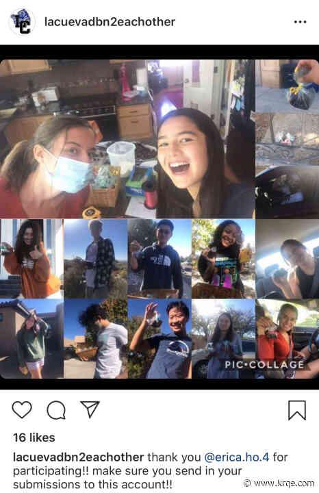 Albuquerque high schoolers spreading joy with 'Dude, Be Nice' campaign