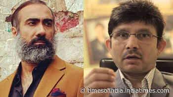Kamaal R Khan slams Ranvir Shorey for demanding legalisation of marijuana in India, gets trolled in return