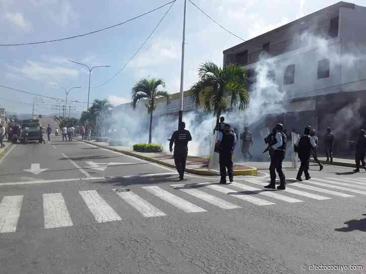 Chivacoa y Yaritagua en las calles pese a represión policial este #26Sep - Efecto Cocuyo