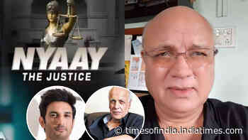 Sushant Singh Rajput case: Aroon Bakshi set to play Mahesh Bhatt in a film based on late actor