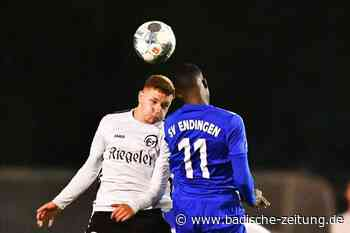 Gerechtes Remis im Derby zwischen dem FC Teningen und SV Endingen - Verbandsliga Südbaden - Badische Zeitung
