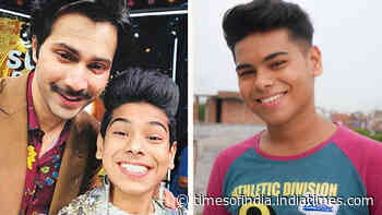 Varun Dhawan has been sponsoring the education of 'Super Dancer' contestant for two years now, video calls him often