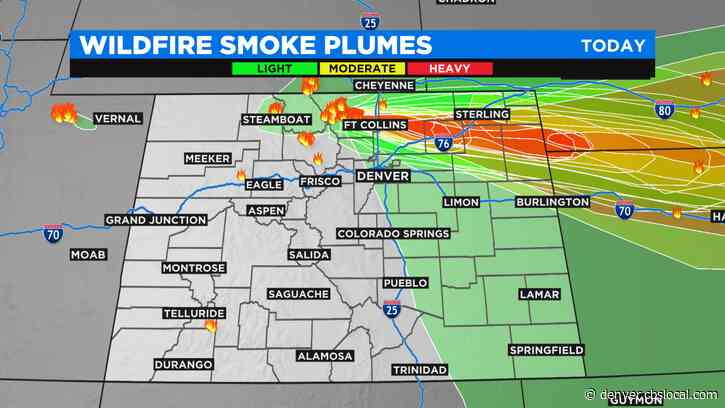 Colorado Weather: Much Cooler, Less Wind, But Still Plenty Of Smoke