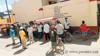 Campesinos de Muna se manifiestan para exigir el pago de un apoyo federal - PorEsto