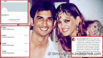 Sushant Singh Rajput's sister Shweta Singh Kirti clarifies why she had to delete her social media handles