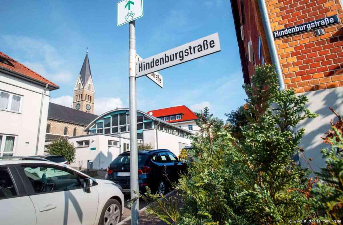 Debatte in Salach - Hindenburgstraße bleibt Hindenburgstraße - Stuttgarter Zeitung