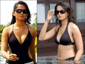 When 'South Queen' Anushka Shetty upped the hotness quotient in beach outfits