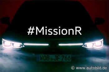 Erster Teaswer zum neuen VW Golf 8 R (2020) - autobild.de