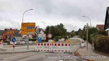 Kreuzungsbereich mitten in Krumbach ist länger gesperrt - Augsburger Allgemeine