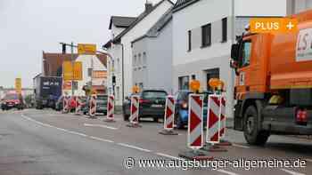 Diese Baustellen in Krumbach und Thannhausen nerven Autofahrer - Augsburger Allgemeine