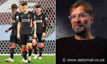 Jurgen Klopp sent his Liverpool players a 'long, long' text message after 7-2 defeat to Aston Villa