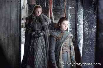 "So the ""GoT""- manufacturer Sophie Turner as well as Maisie Williams teasing - Play Crazy Game"