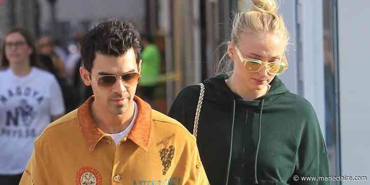 Sophie Turner and Joe Jonas Were Spotted on a Walk With Baby Willa - MarieClaire.com