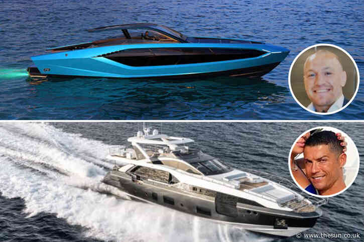 The amazing yachts owned by sports stars, from McGregor's £2.7m Lamborghini Tecnomar 63 to Woods' 'Privacy' worth £15m