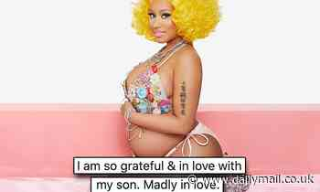 Nicki Minaj reveals she has a baby boy after being silent on gender