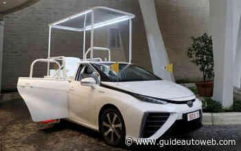 Une Toyota Mirai pour le Pape François
