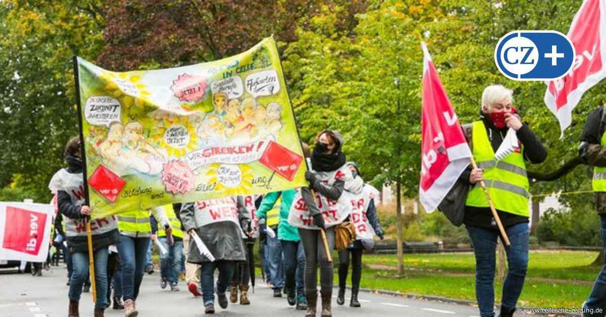 Streik im öffentlichen Dienst: Verdi demonstriert in Celle für mehr Geld - Cellesche Zeitung