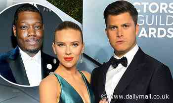 Colin Jost wants SNL pal Michael Che to object during his upcoming wedding to Scarlett Johansson