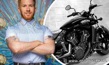 Strictly's Neil Jones splashes out on a £10K motorbike