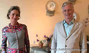 King Philippe of Belgium meets half-sister Princess Delphine for first time