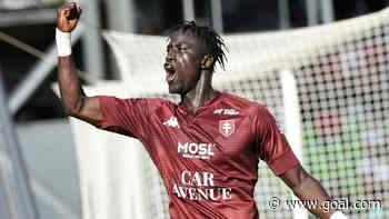 Ibrahima Niane: Metz forward out for 'several months' after ligament injury