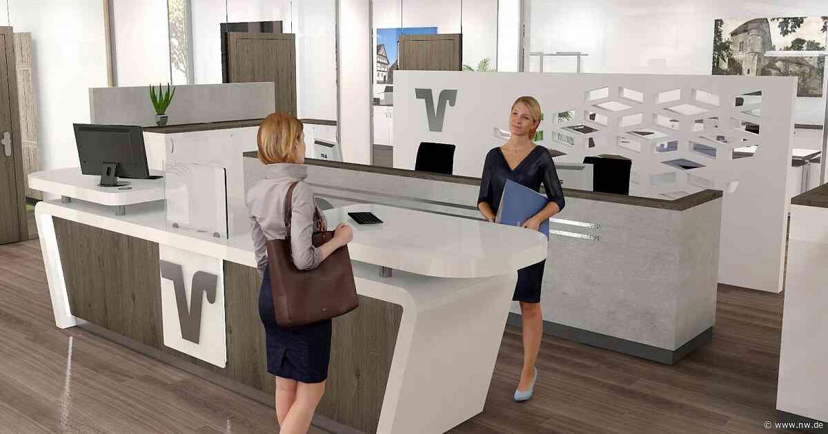 Filialumbau der Volksbank in Bad Driburg fertiggestellt - Neue Westfälische