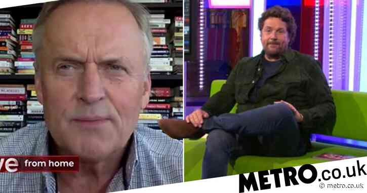 Michael Ball cracks viewers up with accidental NSFW confession on The One Show